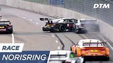 dtm norisring 2017 ren 233 rast slides against the wall dtm norisring 2017