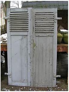 1 Paar Alte Antike Fensterl 228 Den Klappl 228 Den 185 Cm Hoch Mit