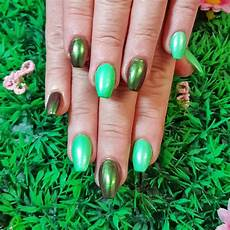 latest 2019 trend with chrome nail art ideas hairstyles 2u