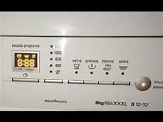 Reset Lavadora Siemens