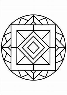 Malvorlagen Geometrische Tiere Dibujos Faciles Para Dibujar Mandalas 36 In 2020