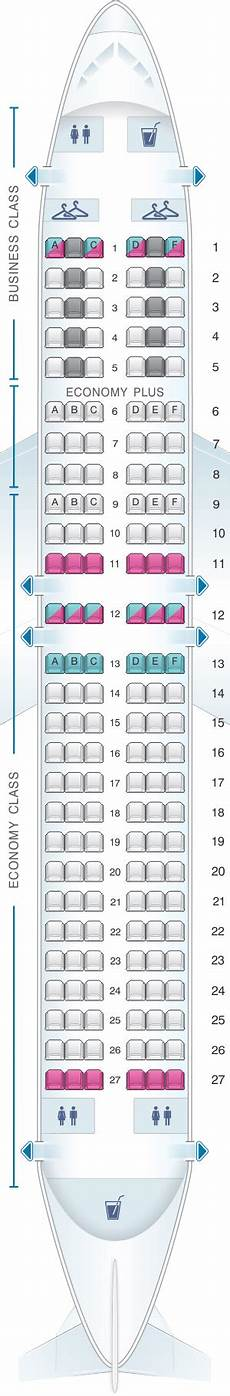 Lot Airlines Seating Chart Seat Map Lot Polish Airlines Boeing B737 400 Seatmaestro