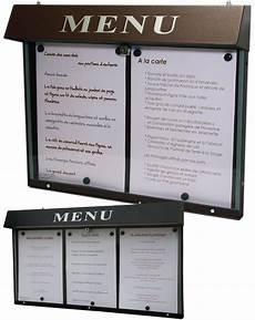 Porte Menu Porte Menus Lumineux Pour Restaurant Sur Pied