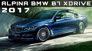 2017 Alpina BMW B7 XDrive Review Rendered Price Specs