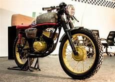 Cafe Racer Bike Modification In Chennai yamaha rx100 turns into ideal cafe cacer by nizcita chennai