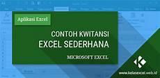 download contoh kwitansi pembayaran excel sederhana microsoft excel aplikasi dan microsoft