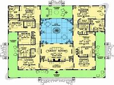 house plans with pools in the middle floor plan u shaped house plans with pool in the middle