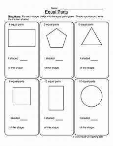 fraction worksheets page 3 of 6 have fun teaching