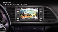 Introduction Tutorial Infotainment System Overview