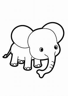 Ausmalbilder Tiere Elefant Ausmalbilder Elefanten 19 Ausmalbilder Tiere