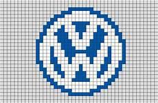 Pixel Logo Voiture Volkswagen Logo Pixel Brik