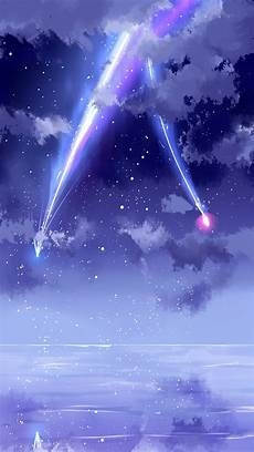 Anime Wallpaper Iphone Xr 4k wallpaper your name beautiful sky meteor anime
