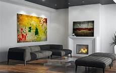 tableaux modernes pour salon tableaux d 233 co comment choisir l dans le salon moderne