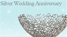 Silver Wedding Anniversary Gifts For