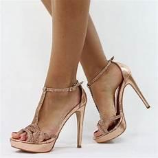 gold pumps jumex high heels pumps glitzer strass