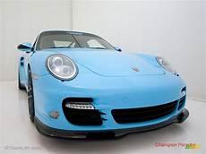 2010 light blue paint to sle porsche 911 turbo coupe