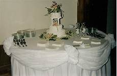 wedding cake table decorations romantic decoration