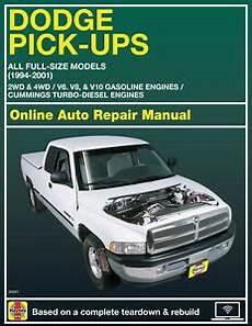 online service manuals 1998 dodge ram van 1500 head up display 1999 dodge ram 1500 haynes online repair manual select