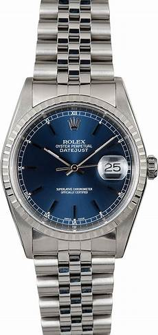 rolex oyster perpetual datejust 16220 steel