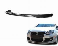 fits vw golf 5 gti jetta mk5 only pu black add front bumper lip spoiler chin ebay