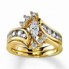 bridal sets yellow gold bridal sets diamond wedding rings