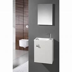 meuble lave mains avec miroir blanc blanc n 176 0 coin d o
