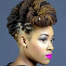 Updo Hairstyles For Dreadlocks