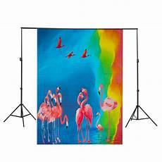 3x5ft 8x10ft Flamingo Fish Unicorn Animals by Backdrops 3x5ft 8x10ft Flamingo Fish Unicorn Animals