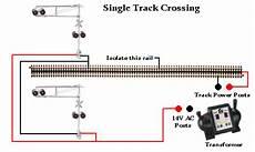 Rr Track Wiring Railroad Crossing Signal Single