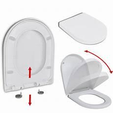 Toilettensitz Mit Absenkautomatik Und Quick Release Wei 223
