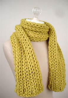 Strickmuster Schal Lochmuster - totally easy and absolutely free knitting pattern