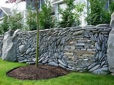 gartengestaltung sichtschutz stein the garden ancient of