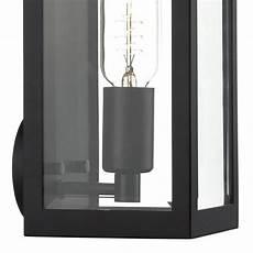 box outdoor wall light black lightbox