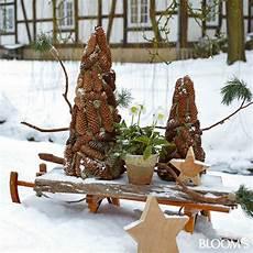 Garten Weihnachtlich Dekorieren - garten winter dekoration garten au 223 endeko weihnachten