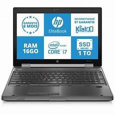 Ordinateur Pas Cher Neuf Portable Pc Portable Hp Elitebook 8570w Intel I7 16go Ram 1