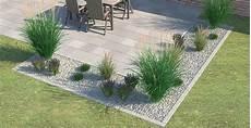 gräser im steingarten pin york samolet auf квіткова 15 terrasse umrandung