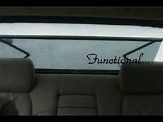 Power Rear Window Sun Shade