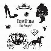 Princess Cinderella Set Collections Stock Vector Art