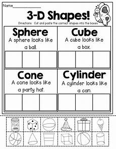 sorting 3d shapes worksheets 7889 3 d shapes tons of great printables that hit skills kinderland collaborative