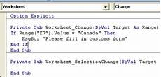 excel vba macro runs when worksheet changed contextures blog
