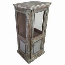 kommode vitrine kommode hochkommode vitrine glas massiv holz vintage