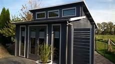 gartenhaus pultdach modern modernes pultdach gartenhaus in anthrazith auch der