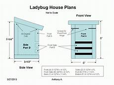 ladybug house plans how to build a ladybug house feltmagnet