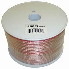 Electronic Master 100 Ft 14 2 Stranded Speaker Wire