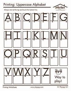 handwriting boxes worksheets 21314 uppercase letters printable by playapy teachers pay teachers