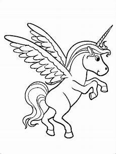 Gratis Malvorlagen Einhorn Unicorn Einhorn Malvorlage Ausmalbilder F 252 R Kinder