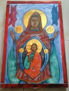Langkah Langkah Membuat Ikon Kudus Gereja