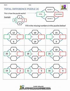 riddle worksheets for third grade 10906 free math puzzles addition and subtraction