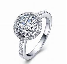 2015 sale 925 sterling silver rings cz diamond for wedding engagement brand crystal