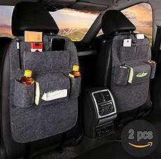 auto organizer beifahrersitz 2 pcs fristee r 252 ckseite sitz auto organizer f 252 r kinder mit